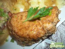 Pierś z kurczaka z mięsem mielonym