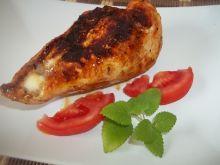 Pierś z kurczaka z mozzarellą w sosie chili