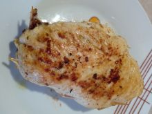 Pierś z kurczaka ze szparagami i mozzarellą