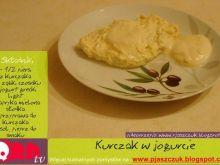 Pierś z kurczakiem w jogurcie greckim