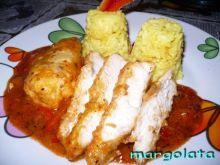 Piersi kurczaka w meksykańskim pomidorze