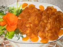 Piersi kurczaka w panierce serowej