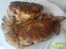 Piersi z kurczaka nadziewane serem