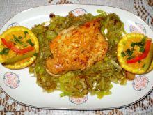 Piersi z kurczaka w soku pomarańczowym