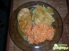 Piersi z kurczaka w sosie wlasnym
