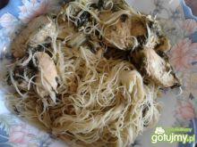Piersi z kurczaka w tajskim sosie