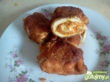 Piersi z kurczaka z farszem marchewkowym