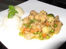 Piersi z kurczaka z mieszanką warzyw