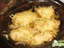 Piersi z kurczaka z serem i porami