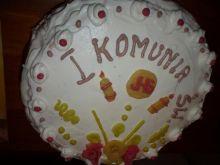 Pierwszy tort pierwszokomunijny