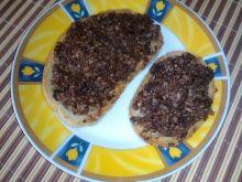 Pikantna kaszanka na cipeło na chleb