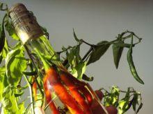 Pikantna oliwa z paprykami chili