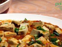 Pikantna potrawka z tofu z porem