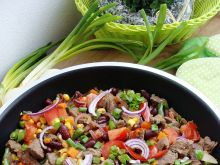 Pikantna wołowina po meksykańsku