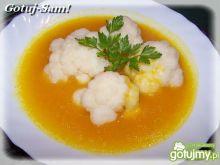 Pikantna zupa dyniowa z kalafiorem