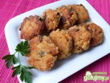 Pikantne kotleciki z ryżu i pieczarek