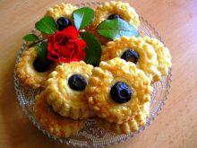 Pikantne serowe ciasteczka