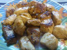 Pikantny kurczak w miodzie