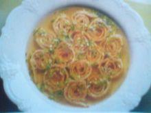 Pikantny omlet w rosole
