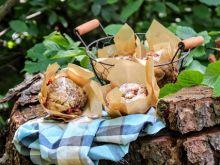 Piknikowe muffiny z rabarbarem