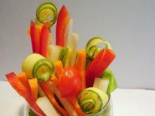 Pinzimonio- czyli bukiet z warzyw