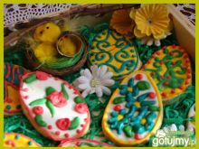 Pisanki na ciasteczkach