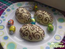 Pisanki z czekolady wg Madzi