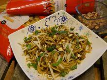Pistacjowe spaghetti