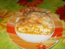 Pita z białym serem i dynia