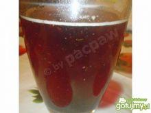 Piwo grzane malinowe