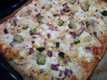Pizza 3 sery z warzywami