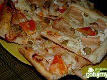 Pizza biała francuska