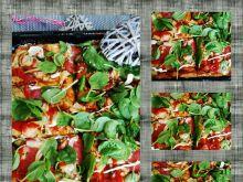 Pizza domowa na ziołowym spodzie
