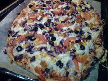 Pizza meksykańska (bezmięsna)