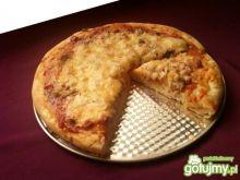 Pizza na cienkim cieście szybka i pyszna