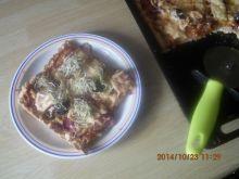 Pizza na cieście bez drożdży