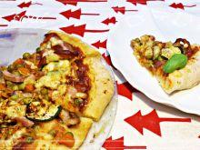 Pizza na cieście kefirowym
