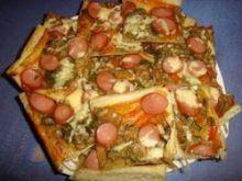 Pizza na francuskim ciescie