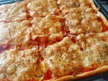 Pizza na owsianym spodzie