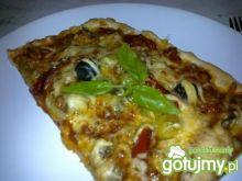 Pizza pełna warzyw