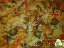 Pizza podwójnie pikantna