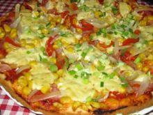 Pizza szczypiorkiem pachnąca