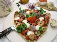 Pizza walentynkowa z lutenicą