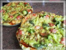 Pizza warzywna na bogato