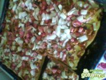 Pizza wypasiona z kurkami