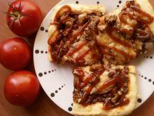 Pizza z aromatycznymi kurkami