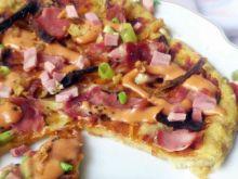 Pizza z chleba (bułek)