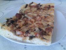 Pizza z gyrosem