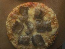 Pizza z kebabem  na chlebku pita