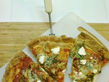 Pizza z kurczakiem i ricottą